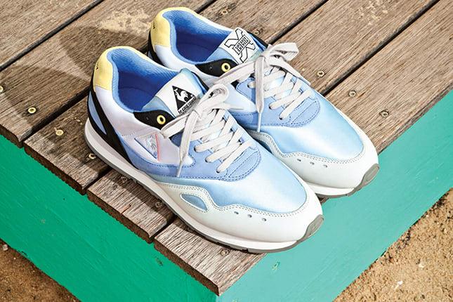outlet store 2f444 292da Sneaker Freaker x Le Coq Sportif Flash