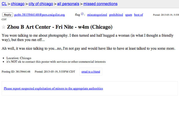 craigslist chicago personals w4m