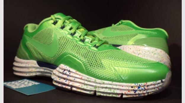 wholesale dealer a52b4 5b50a Marshawn Lynchs Nike Lunar TR1