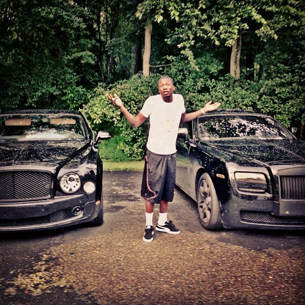 Wut - Meek Mill's 30 Best Rides Photos On Instagram
