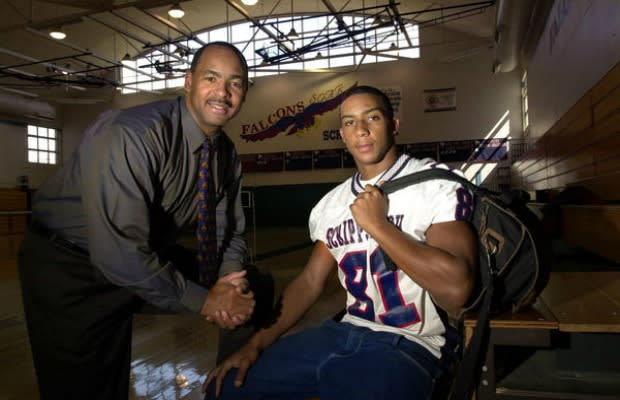 a history of athlete sons who could never get out of their