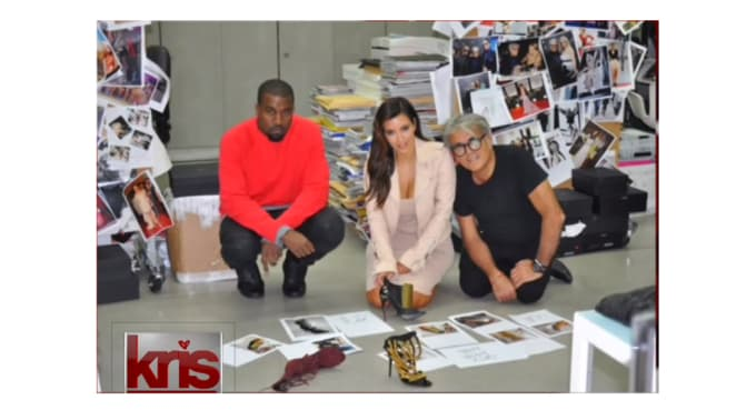 Image result for zanotti shoe factory with kim and kanye