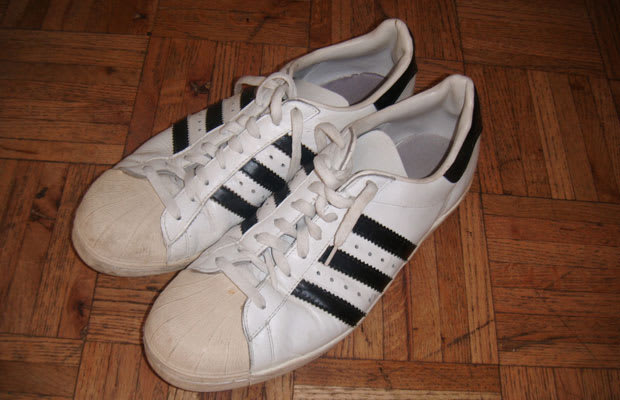 abc9ad12b624 Way before it became a b-boy staple—even before Run DMC—the adidas Superstar  was a state-of-the-art basketball shoe. When the Superstar was introduced  in ...
