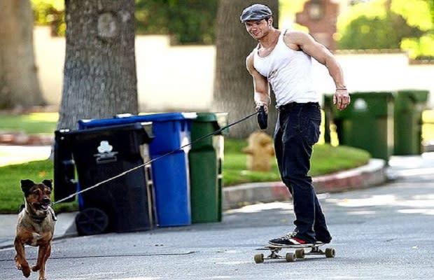 Dave chappelle skateboarding