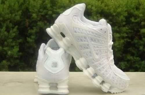 8544034881394f Nike Shox Tl1 Womens White aromaproducts.co.uk