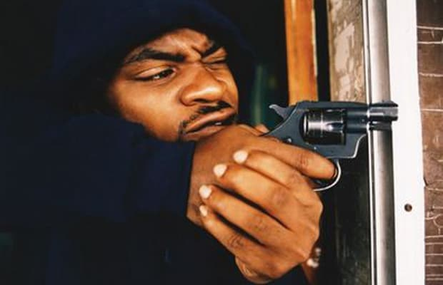 Pistol pistol by d12 sampled the notorious bigs kick in the door