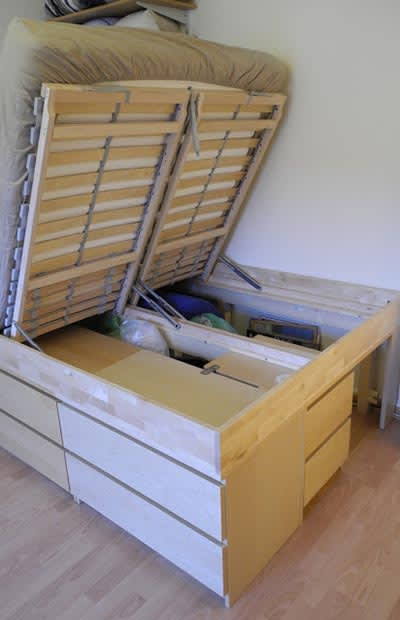 Under The Bed 25 Life Hacks For Small Apartments Complex