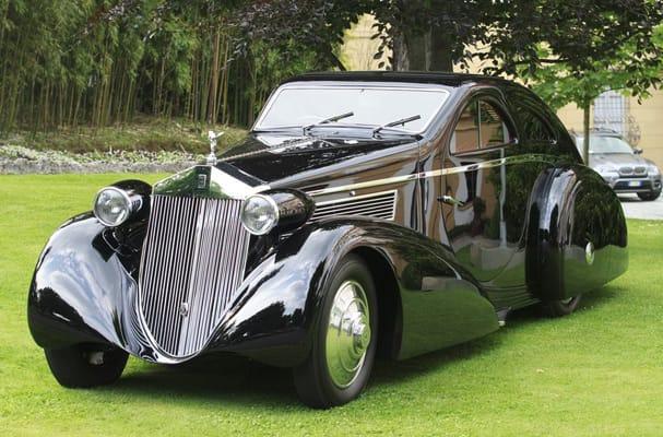 Gallery the re bodied 1925 rolls royce jonckheere phantom for 1925 rolls royce round door