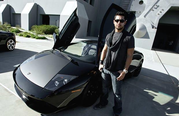 Wilder Valderrama 25 Celebrities And Their Lamborghinis