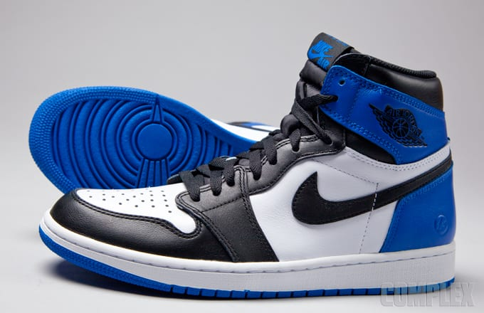 fragment x Air Jordan 1 Detailed Photos | Complex
