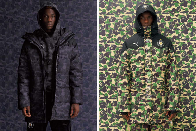 55ff1cbff70d Puma and BAPE Drop a New Lookbook Featuring Mario Balotelli