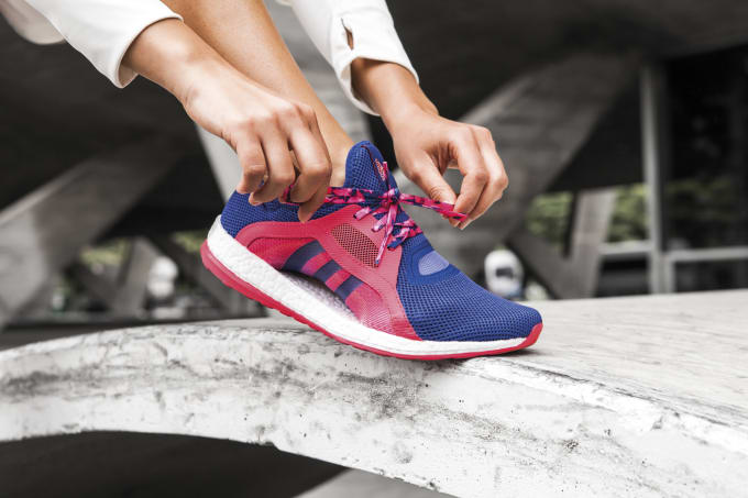 e6d581e1fcaca adidas  New Pure Boost Sneaker for Women Is the Best One Yet