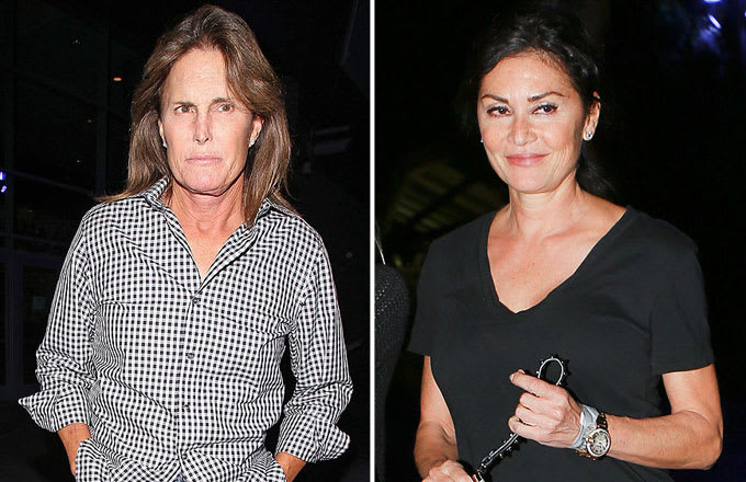 Bruce jenner dating kris friends