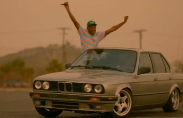 Tyler The Creator Just Dropped A New Visual For His Single Domo 23 And At End Of Track He Previews Another Song Called Bimmer