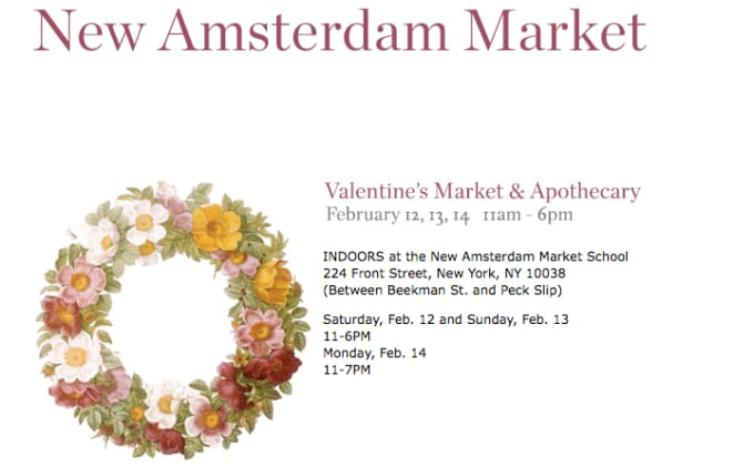 Free Date Spot: Valentine's Market & Apothecary This Weekend