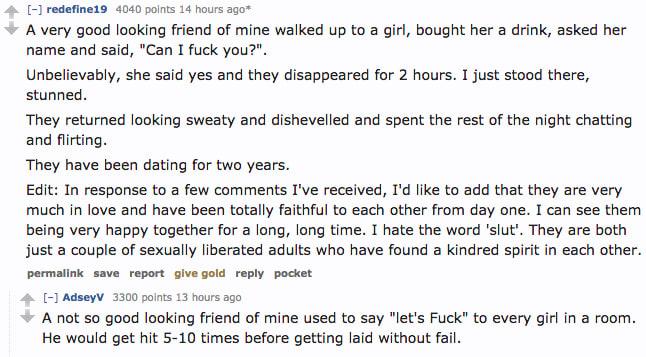 Random hookup reddit