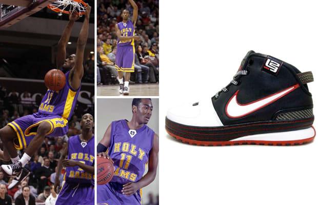 huge discount 97b3c e0caf John Wall – Nike Zoom LeBron VI. High School ...