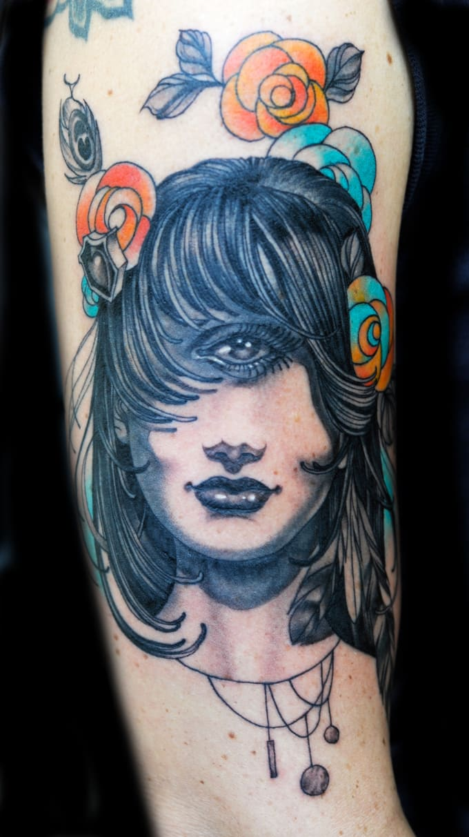 Henry lewis 50 great tattoo artists you probably haven for Henry lewis tattoo