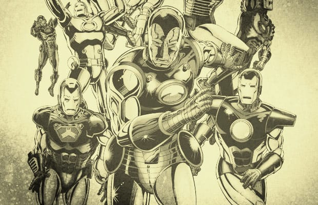 The Complete Evolution Of The Iron Man Suit Complex
