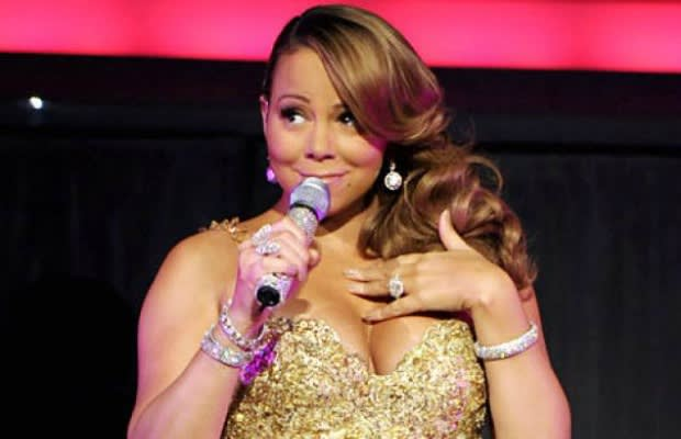 image via core - Mariah Carey All I Want For Christmas Live