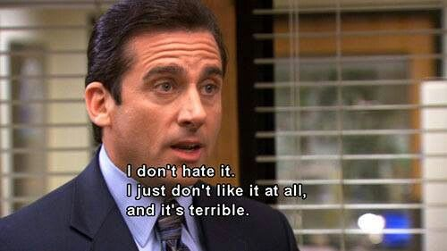 Image result for michael scott saying he doesn't know what he's doing