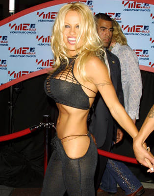 Pamela Anderson The 50 Most Risqu 233 Red Carpet Looks Of