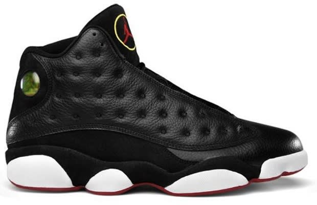 b79336b7b72 Release Date  2 26 2011. Style Code  414571-001. Colorway  Black Varsity  Red-White-Vibrant Yellow The Air Jordan ...