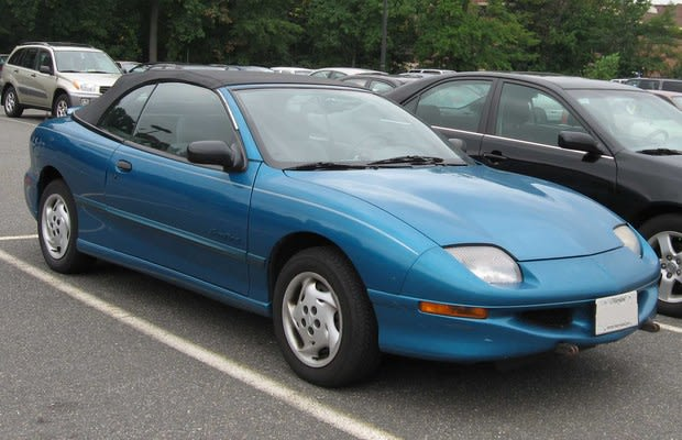 Ah The Sunfire It S Ugly Lacks And Is Made Of Plastic Aluminum Thankfully Found A Home With Millions Dumb Looking For Car To