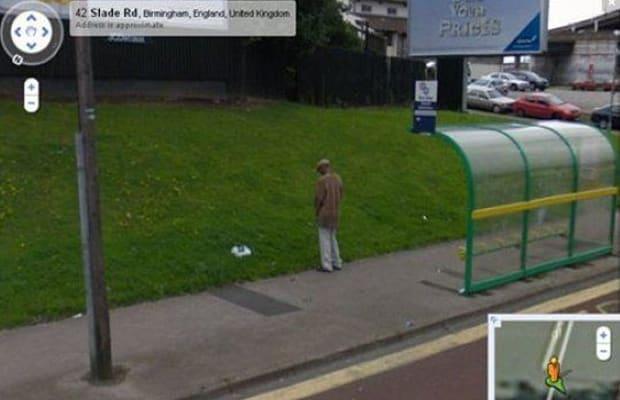caught peeing in publick
