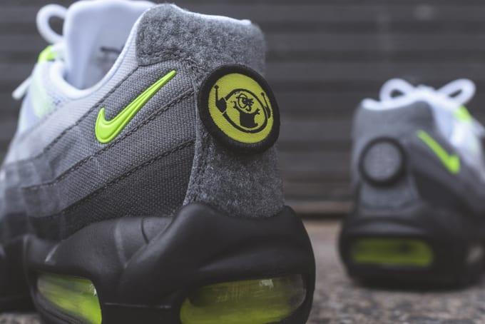 finest selection 14151 fb2b4 Image via Kith. The Nike Air Max 95