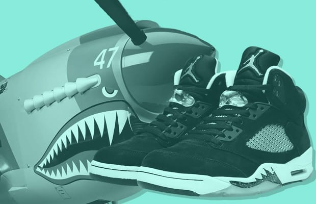 8 Jordan Silhouettes That Were Inspired by Cars or Fighter Jets ... 5afc788e0