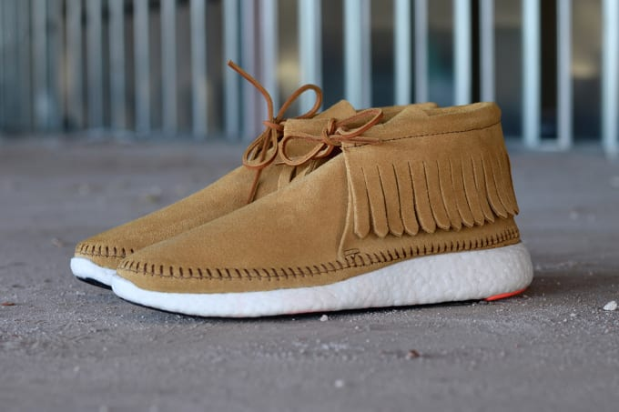 watch c0af9 35936 A Shoemaker Turned a Pair of adidas Pure Boosts Into Visvims