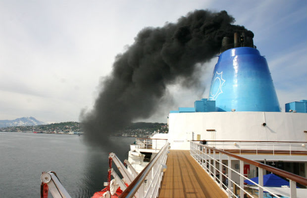 The Alaskan Cruise Ship Sapphire Princess Generates The Same - Cruise ship fuel