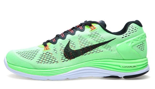 buy popular 5de1a 249eb In August, the Swoosh will be coming with a bright take on its Lunarglide+ 5  model. The performance pair makes good use of the brands Engineered Mesh  and ...