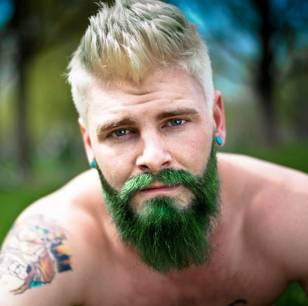 Men Are Dyeing Their Beards Bright Colors | Complex