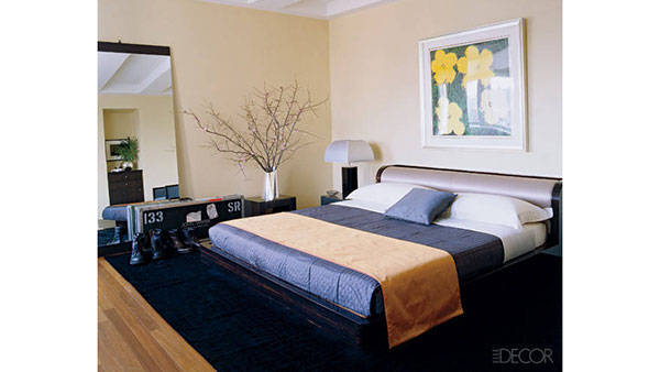 All Images Via Harperu0027s Bazaar / John Mayeru0027s Bedroom