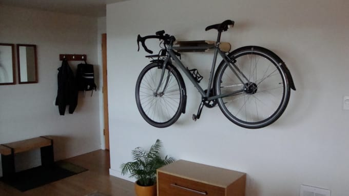 Great Oblong Bike Shelf
