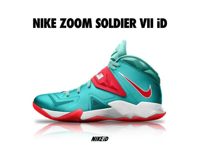 huge discount 53ba9 90401 Now we know part of the reason why the Swoosh has been pushing the Zoom  Soldier VII so much lately. Because now the LeBron James option has made  its way to ...