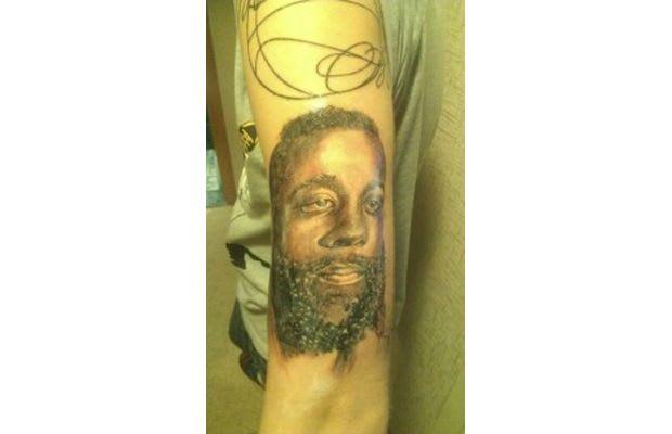 James harden gallery the worst sports fan tattoo fails for James harden tattoo