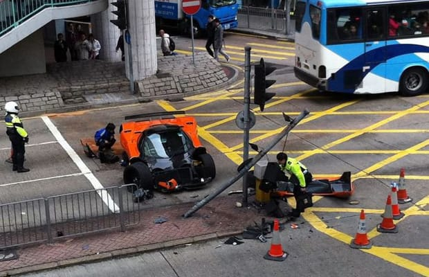 Ford Gt Awful Supercar Accidents Complex