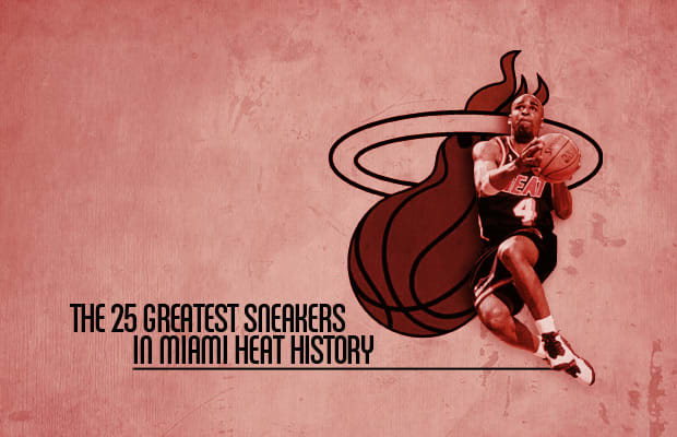 aee1c07dca4 The 25 Greatest Sneakers In Miami Heat History