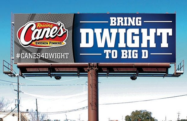 Dallas Fast Food Chain Entices Dwight Howard With Free Chicken