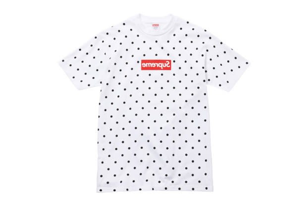 25074aa301 Over the weekend a collaboration between Supreme and Rei Kawakubo s COMME  des GARCONS SHIRT was announced. Here s a closer look at what we can expect.