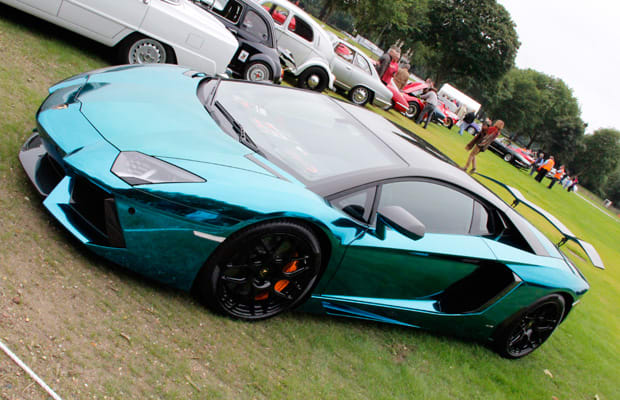 still to this day we think this is one of the most attractive aventador customs weve ever seen who else is doing a chrome aqua blue
