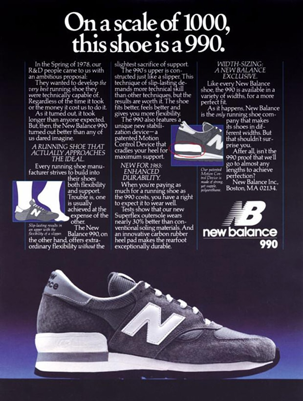 buy popular a058e f9422 steve jobs new balance 990