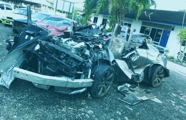 Stories Of People Crashing Their Recently Purchased Supercars