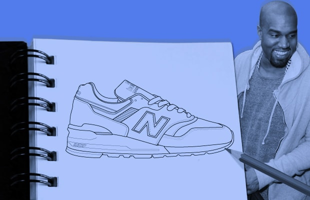 43788e050a2 Imagining a Kanye West x New Balance 997 Collection