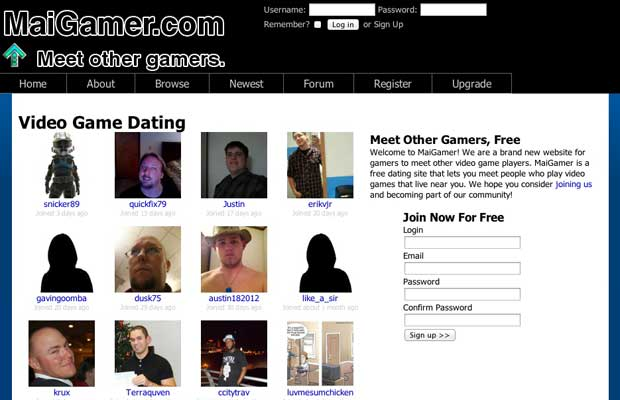 Gay Gamers Hookup Site