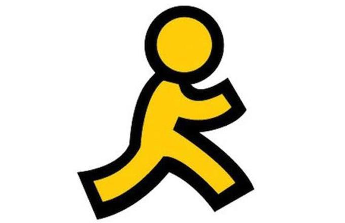 Aol Designer Explains The Companys Iconic Yellow Running Man Logo