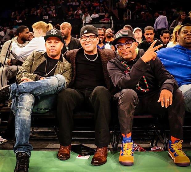 Did Spike Lee Debut His New Jordan Sneaker Last Night  6c6274a6c
